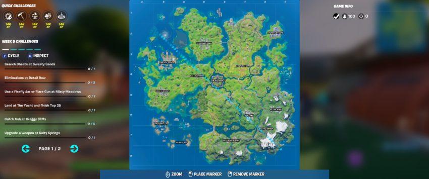 Chapter 2 Season 3 Week 6 Map