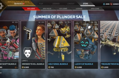 Everything the Summer of Plunder sale brings (and brings back) to Apex Legends