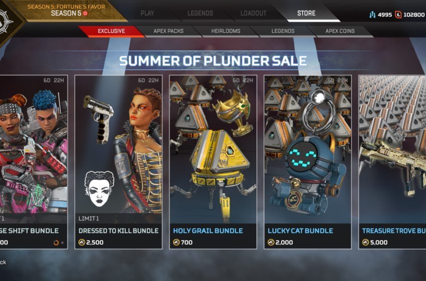 summer of plunder sale