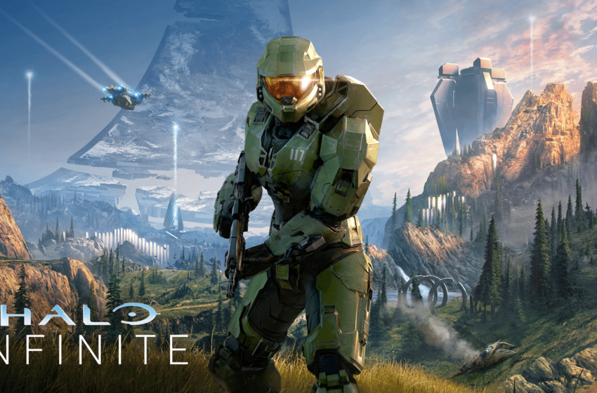 Halo Infinite key art gives clearest look yet at Master Chief's next adventure