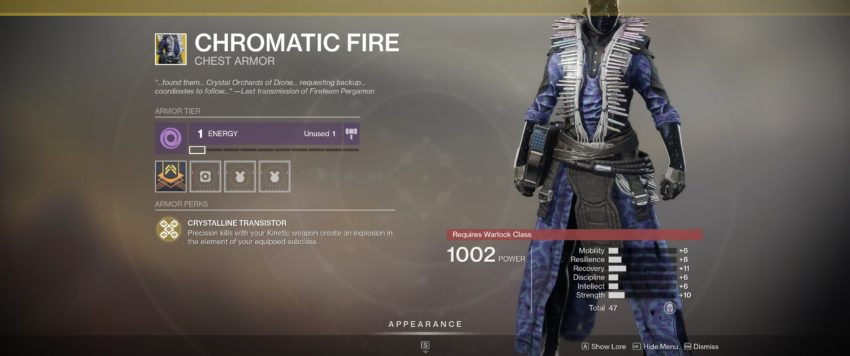 Chromatic Fire