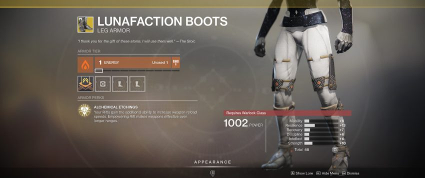 Lunafaction Boots