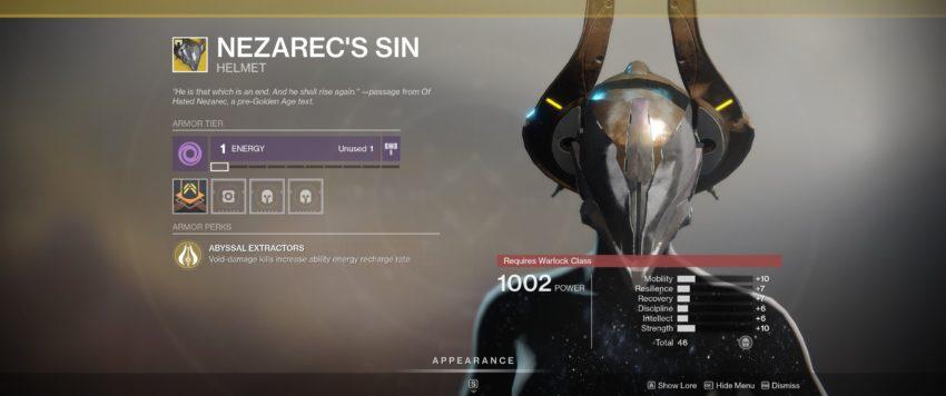 Nezarec's Sin