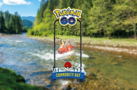 For better or for worse, August Pokémon Go Community Day features Magikarp