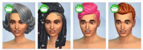 Sims 4 knitting pack hair
