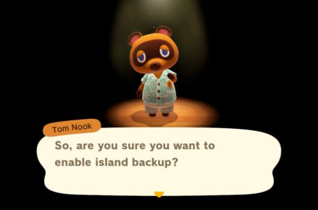 How to enable Island Backup in Animal Crossing: New Horizons