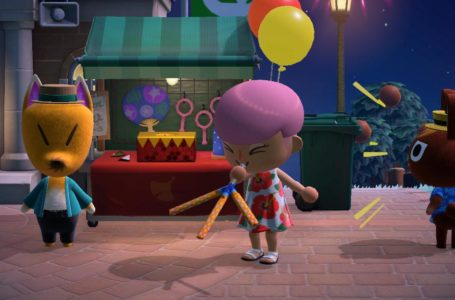 All 12 Redd's Raffle items from the August Fireworks Show in Animal Crossing: New Horizons