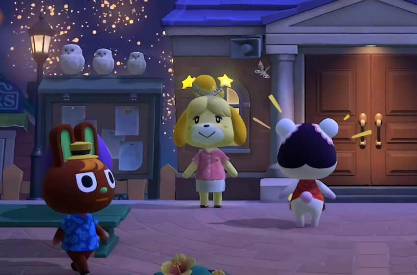 All of Isabelle's Boppers from the August Fireworks Show in Animal Crossing: New Horizons