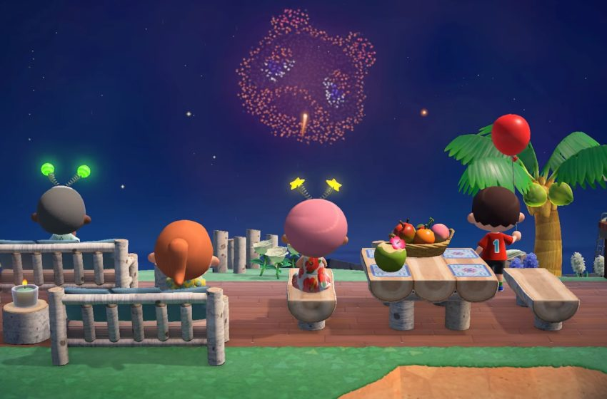 Fireworks Show Event dates and times in Animal Crossing: New Horizons