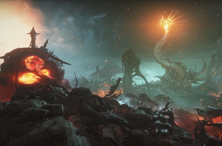 Warframe's gigantic, warring moon worms are the greatest clock in gaming