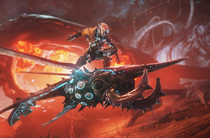 What is the release date for Warframe's Heart of Deimos expansion?