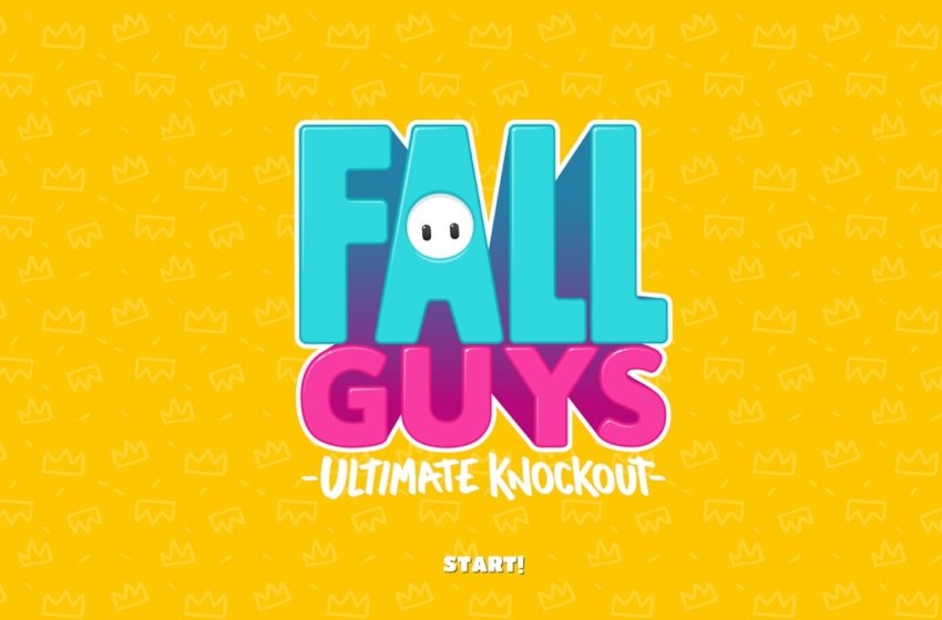 Fall Guys title Screen
