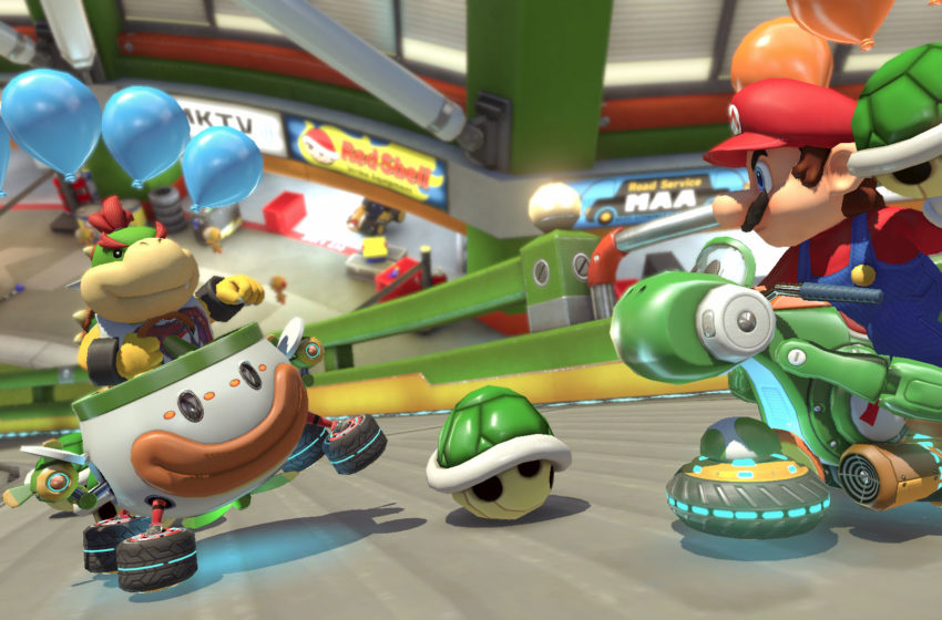 Leaked Super Nintendo World footage teases augmented reality Mario Kart ride