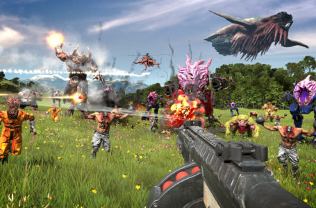 What is the release date of Serious Sam 4?