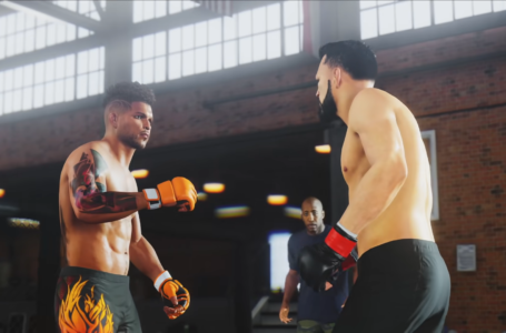 How to touch gloves in UFC 4