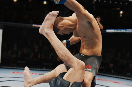 How to submit your opponent in UFC 4