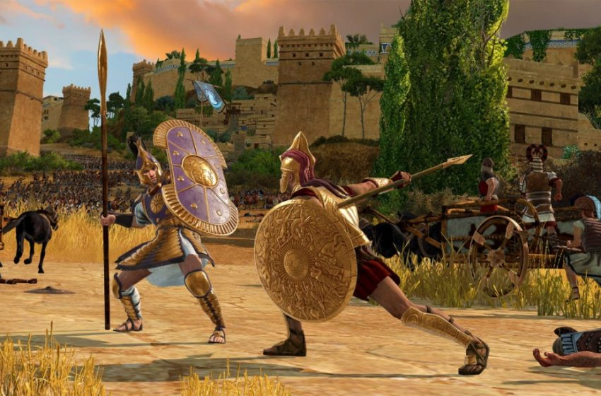 How troop morale and routing works in A Total War Saga: Troy