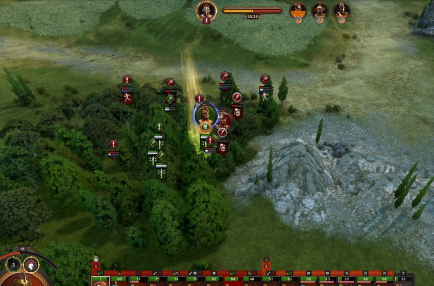 How to use Aristeia in combat in A Total War Saga: Troy