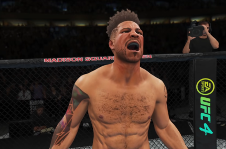 How to equip perks in UFC 4 career mode