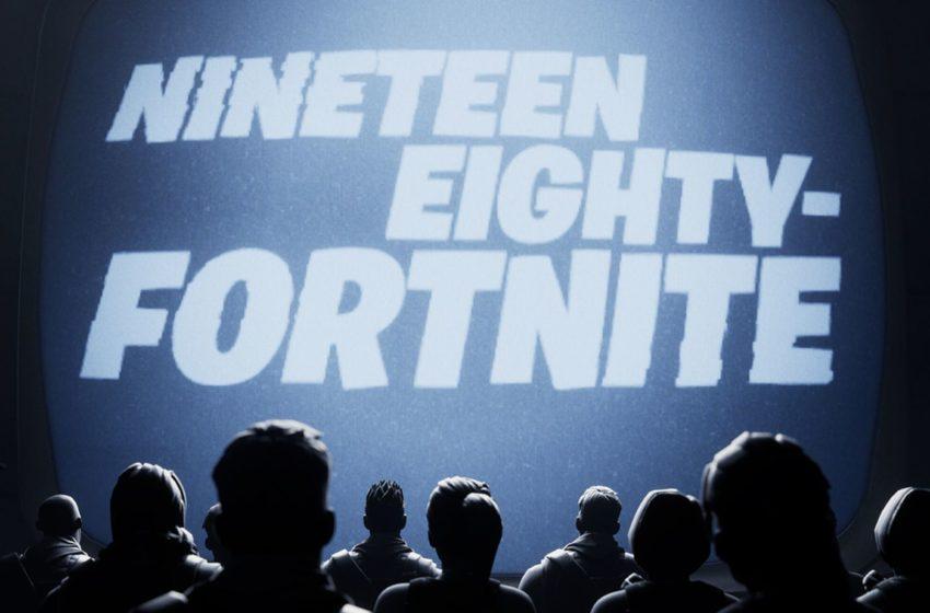 The Epic Games Nineteen Eighty-Fortnite meme, explained – Epic vs. Apple 1984 commercial