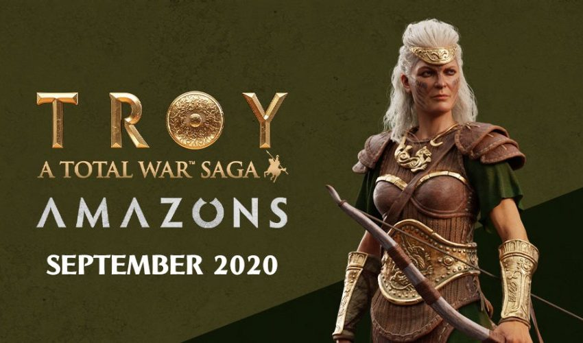 How to get Total War Saga: Troy Amazons DLC for free