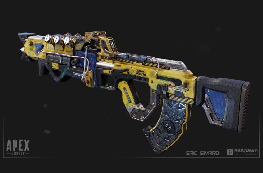 Apex Legends gold guns care package weapons flatline