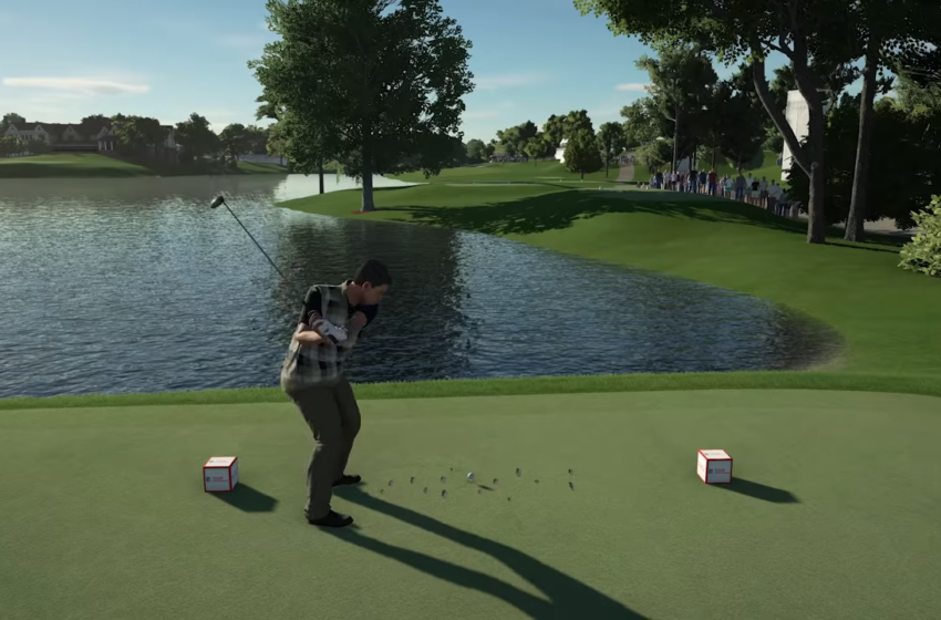 Can you play as real PGA golfers in PGA Tour 2K21?