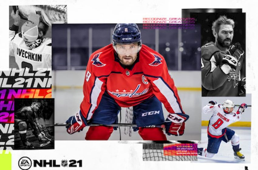 Alex Ovechkin named cover athlete for NHL 21
