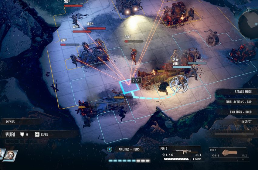 How Action Points work in Wasteland 3