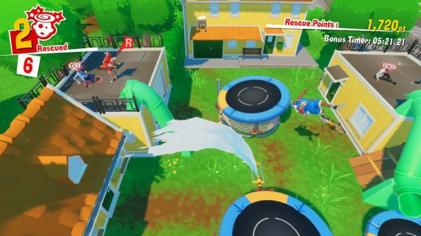 The Stretchers, in-game screenshot