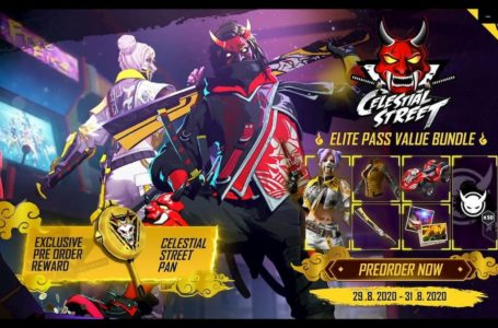 How to pre-order the Garena Free Fire Season 28 Celestial Street Elite Pass