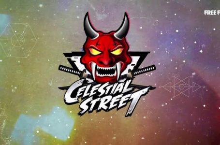 Free Fire Season 28 Celestial Street Elite Pass release date and rewards