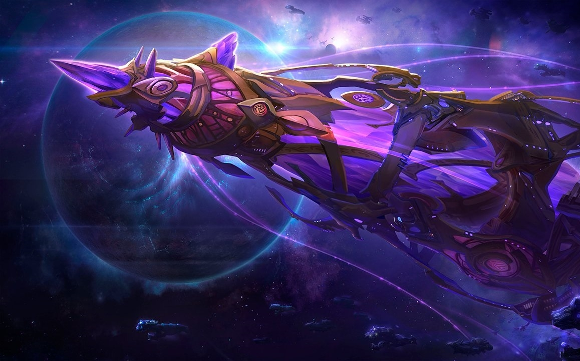 Protoss Warcraft Heroes of the Storm teaser