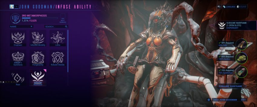 How To Use The Helminth System In Warframe Gamepur Warframe nova build 2020 guide. how to use the helminth system in