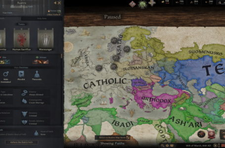How faith and culture work in Crusader Kings 3