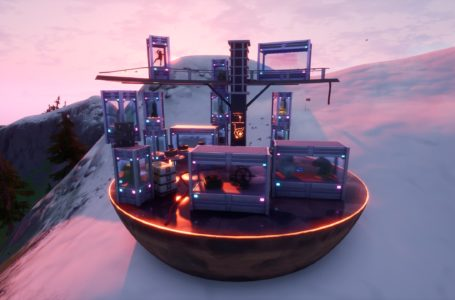 The Collection location – Fortnite Chapter 2 Season 4