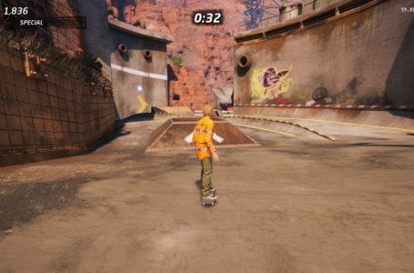 All hard hat locations in Downhill Jam in Tony Hawk's Pro Skater 1+2