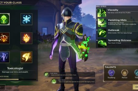 How to play the Toxicologist class in Spellbreak
