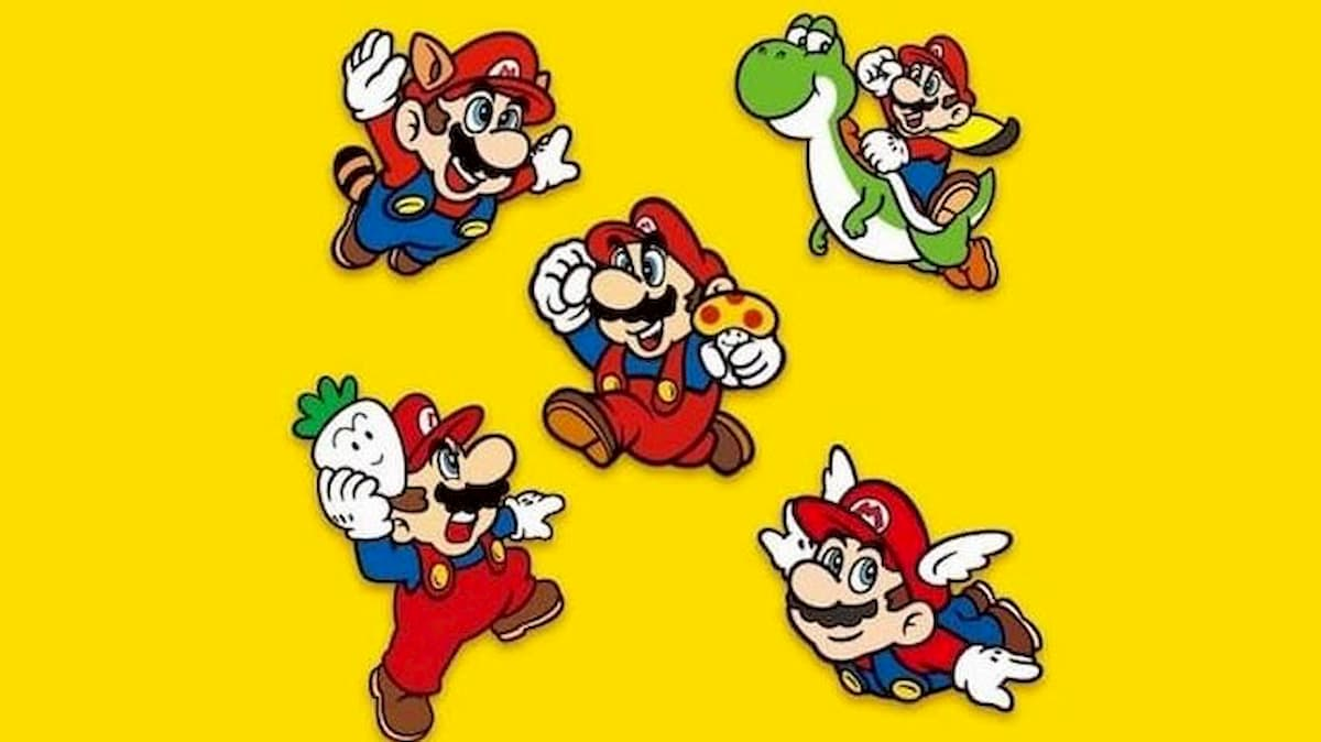 How to get the limited edition Super Mario pin set