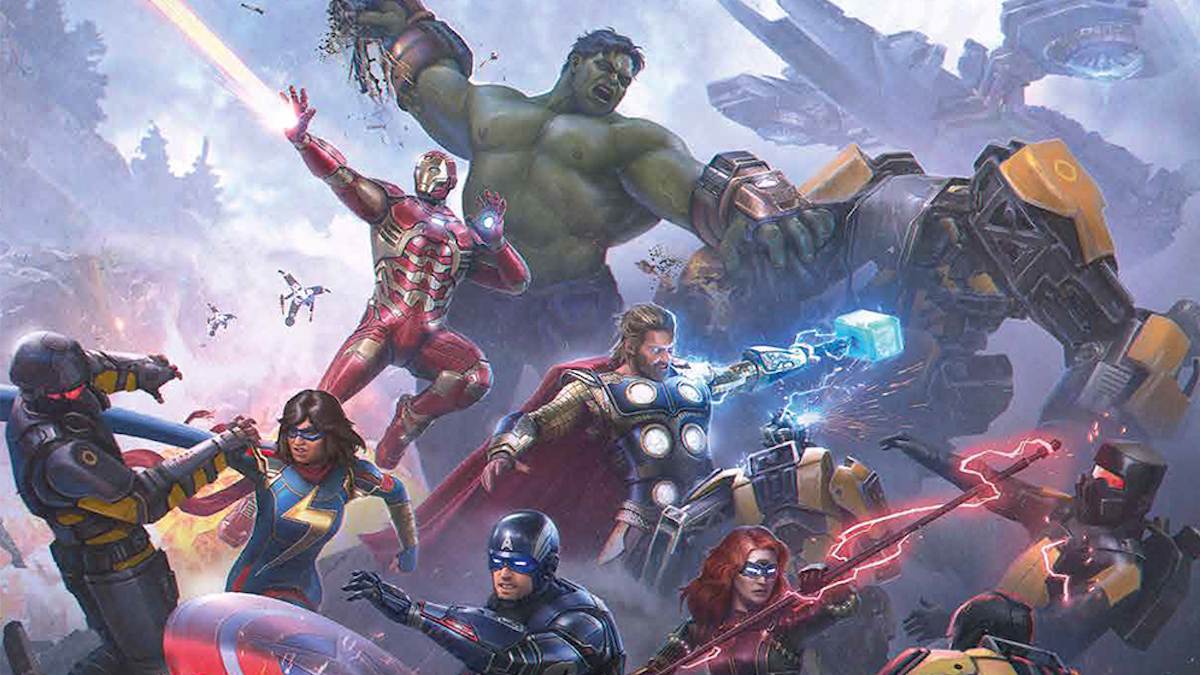 Review: Marvel's Avengers is a package of visual noise with a sliver of heart
