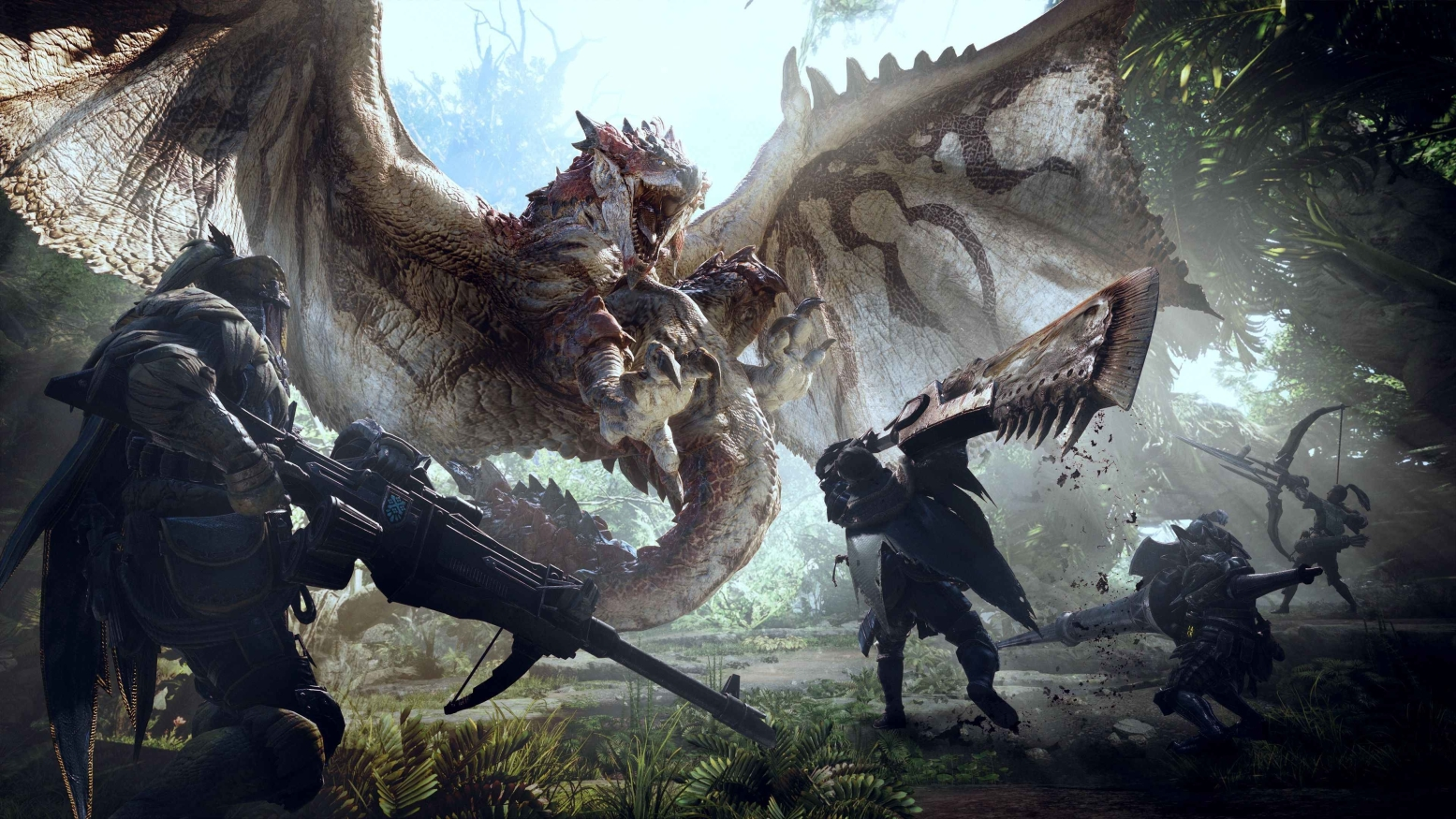 Monster Hunter co-op games on pc