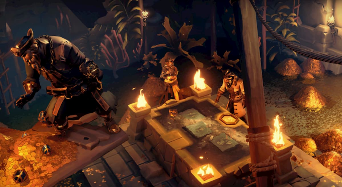 How to loot a Treasure Vault in Sea of Thieves