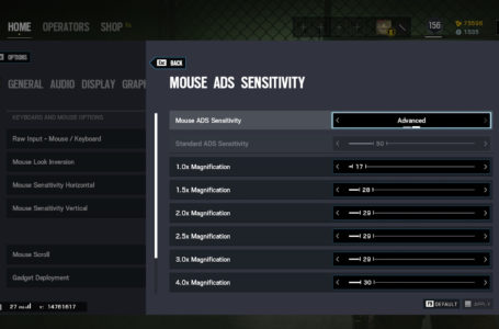 How to convert your Rainbow Six Siege sensitivity for Shadow Legacy