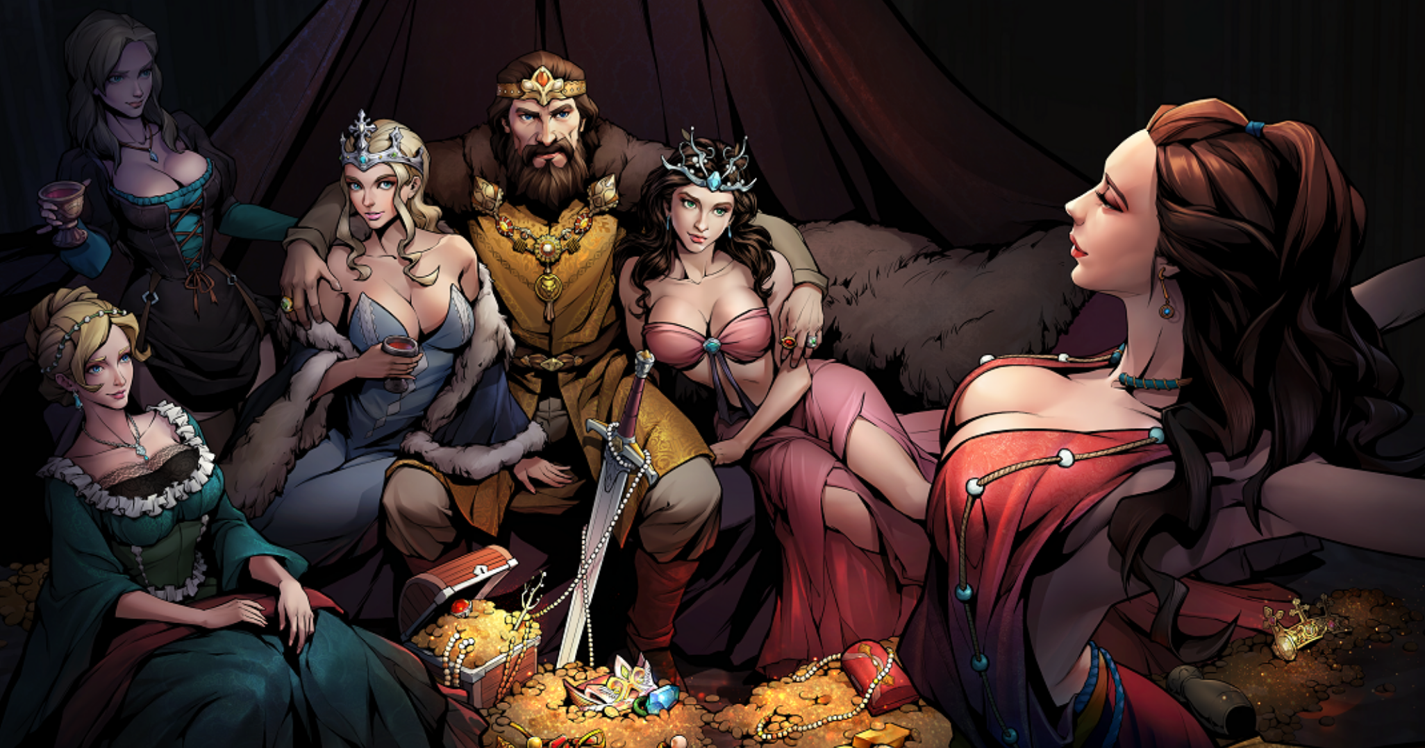 How to get free gems in King's Throne: Game of Lust
