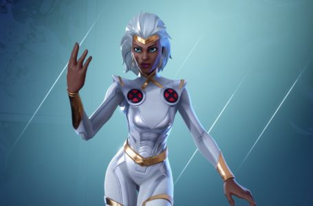 How to emote as Storm at the center of the eye of the storm in Fortnite Chapter 2 Season 4