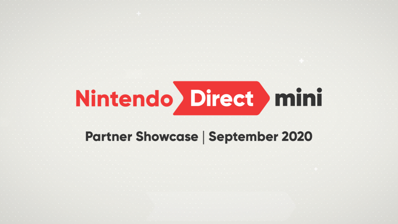 Nintendo Direct Mini: Partner Showcase coming September 17