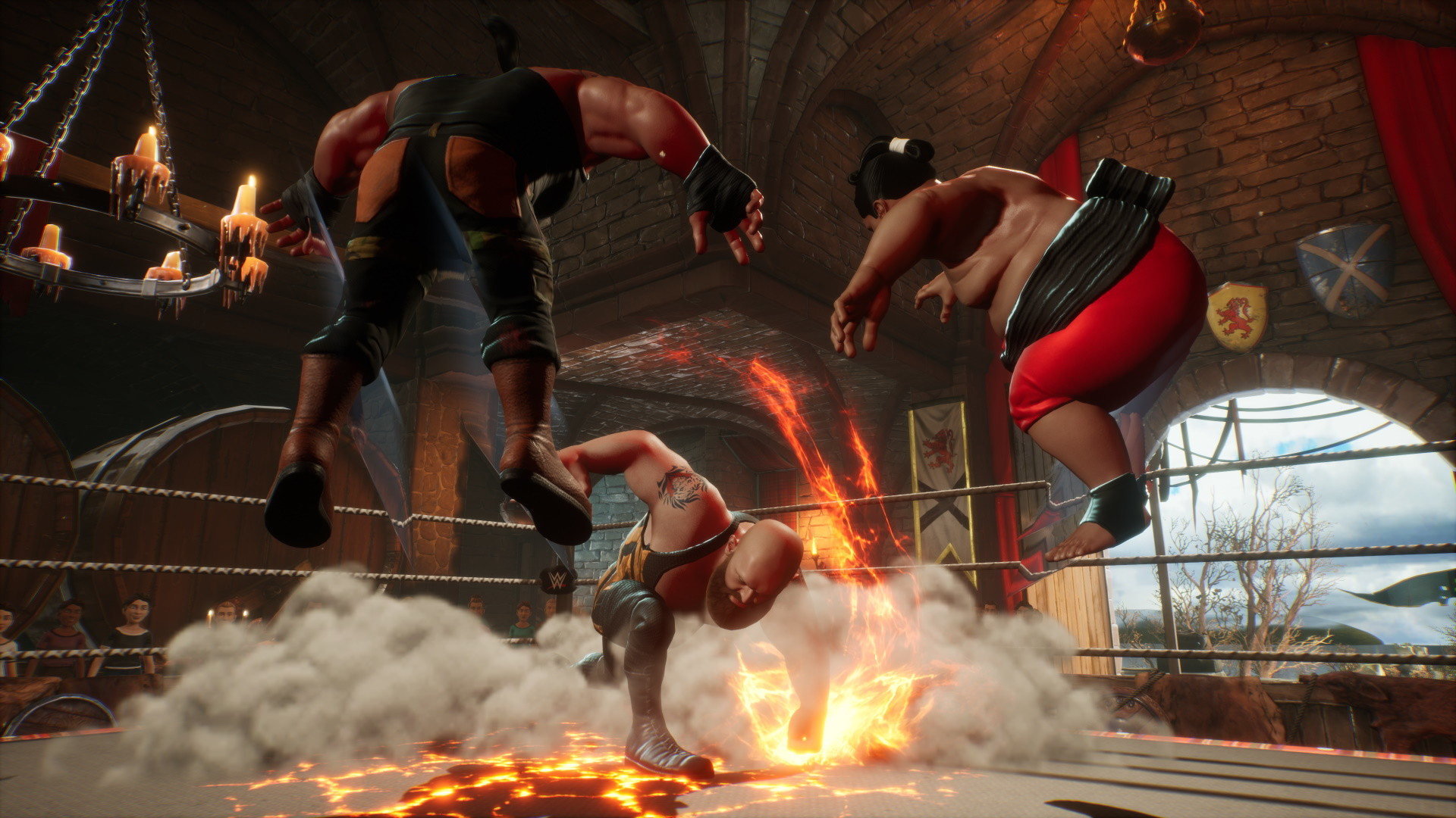 WWE 2K Battlegrounds PC requirements - minimum and recommended specs