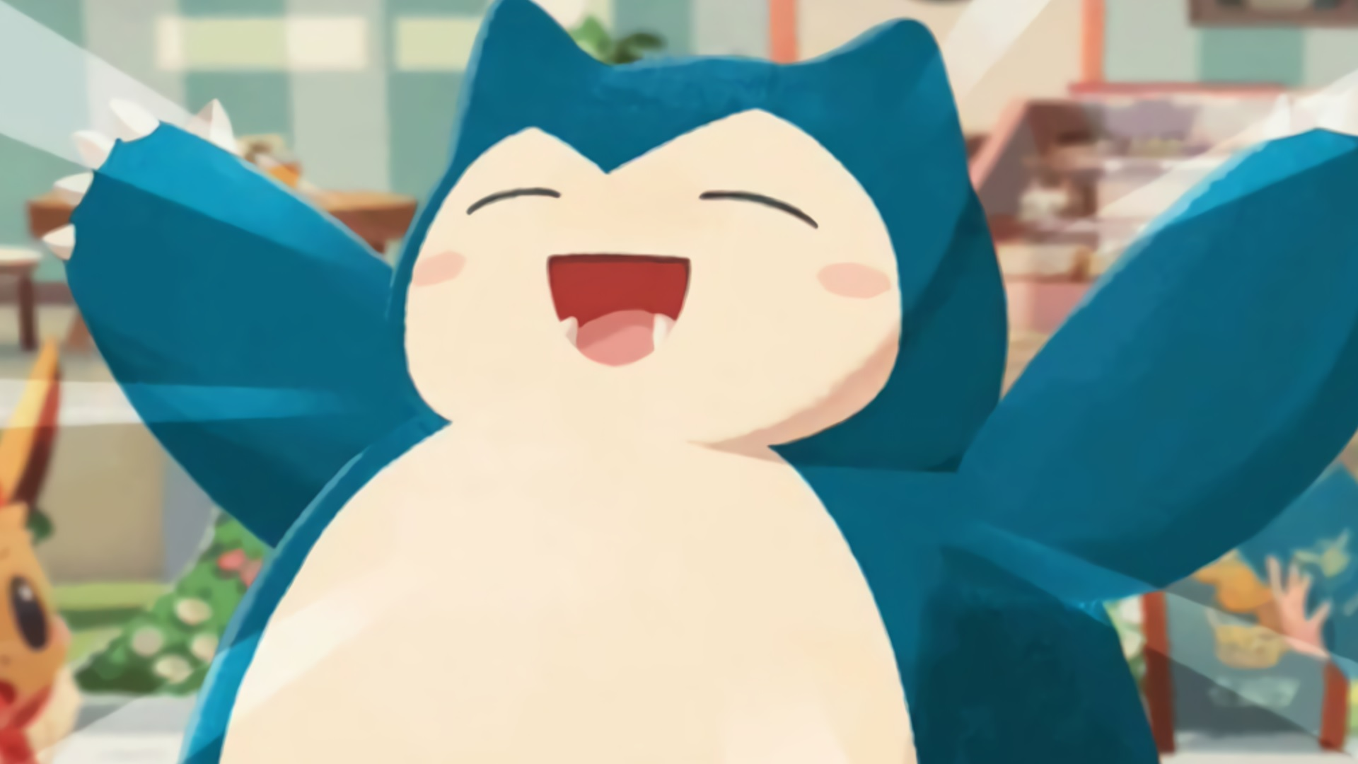 Snorlax in Cafe Mix