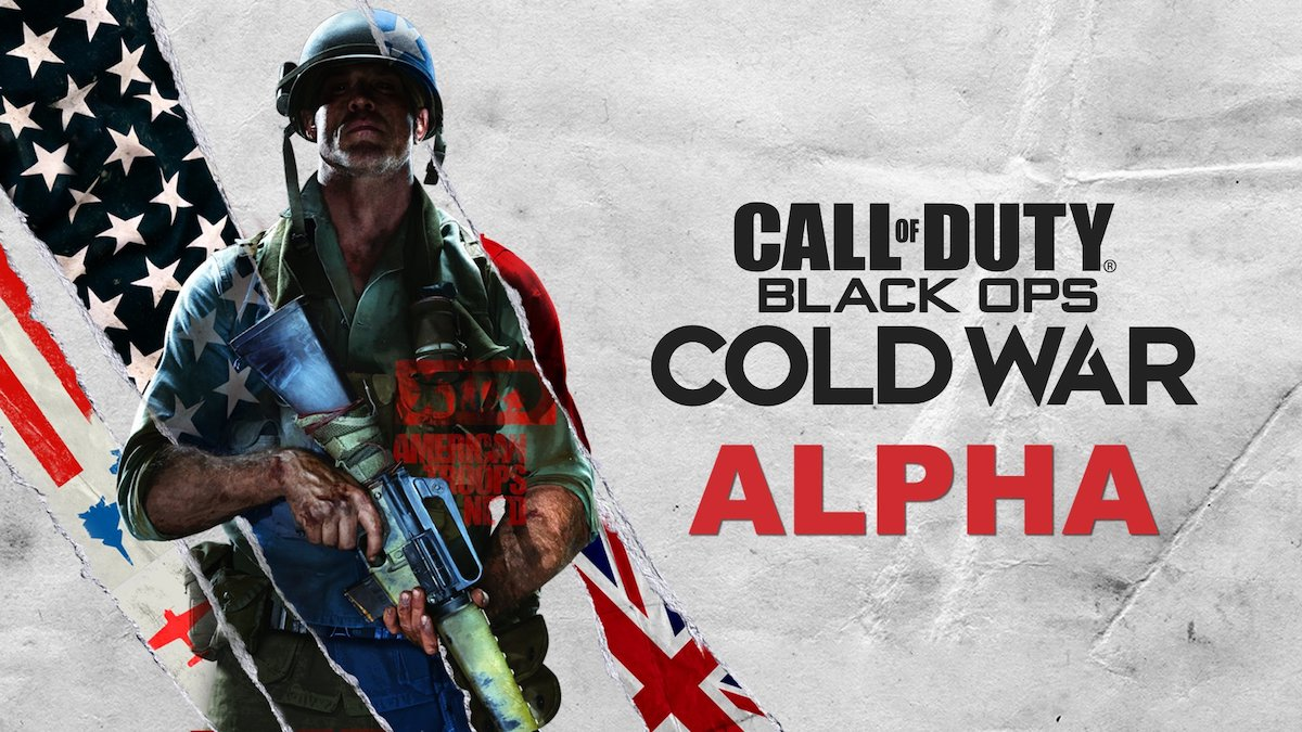 When is the Call of Duty: Black Ops Cold War alpha?