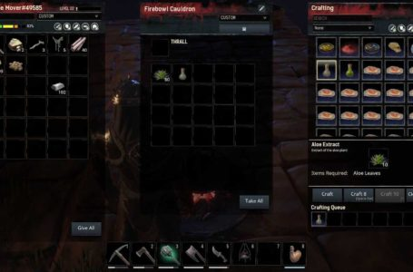 Conan Exiles: Isle of Siptah Healing Guide  – How to heal, Wraps, Aloe Extract